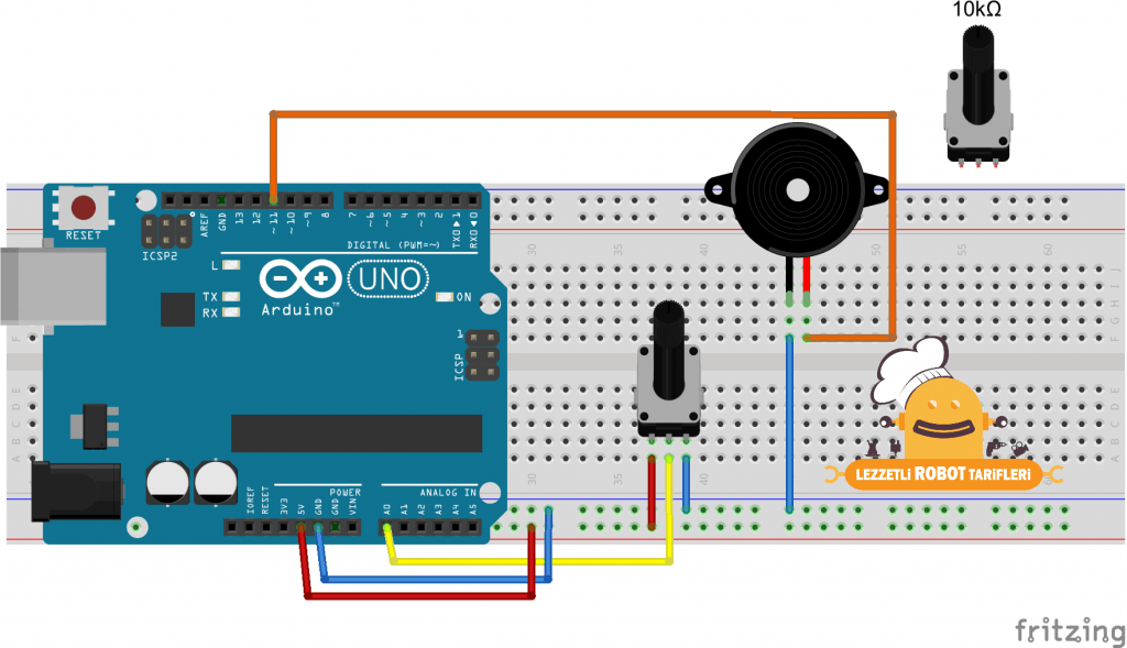 Arduino Tarifleri #18 - Analog Çıkış , PWM - Lezzetli Robot Tarifleri