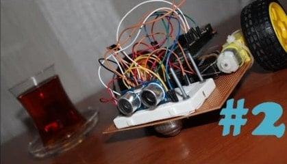 Arduino İle Engelden Kaçan Robot v1.00 2. Bölüm-min
