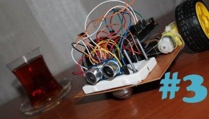 Arduino ile Engelden Kaçan Robot v1.00 3. Bölüm-min