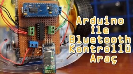 Bluetooth-Kontrollu-Arac-Arduino-Uygulamalari