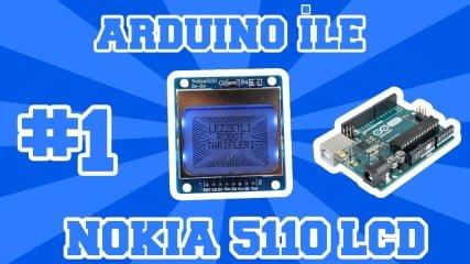 NOKIA-5110-LCD-ile-Arduino-Kullanimi-1-Kutuphane-Ve-Baglanti