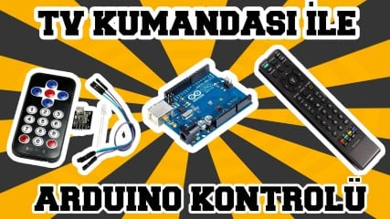 TV-Kumandasi-ile-Arduino-Kontrolu