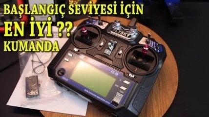 Drone İçin Kumanda Ayarı || 10 Kanal Yazılım Güncelleme || Mod Değişimi || İnceleme || FLYSKY FS-i6