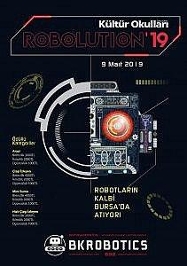 Robolution'19 afişi