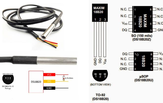DS18B20 sensörünü kılıf
