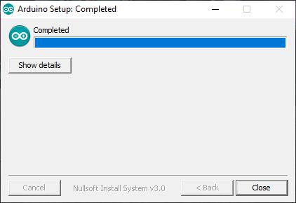 Arduino yükleme ekranı son